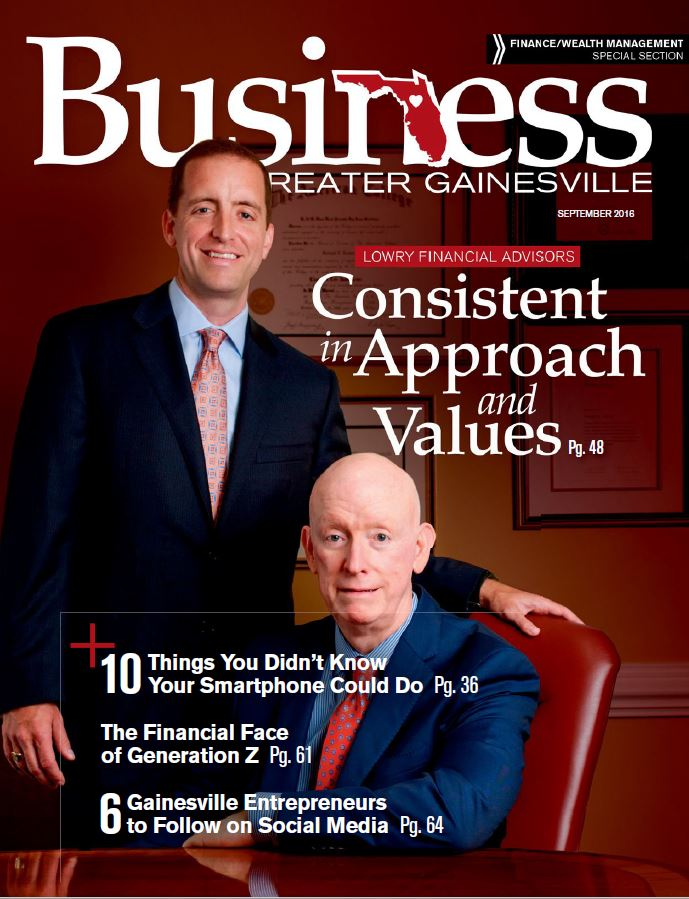 Business Magazine Cover